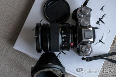 Fujinon XF 16-55 mm f/2.8 R LM WR, toma de contacto
