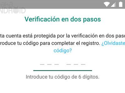 WhatsApp activa la  verificación en dos pasos para todos los usuarios