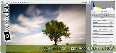 Aprendiendo con Adobe Camera RAW (IV): Primera parte.