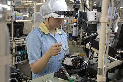 Visita virtual a una fábrica de Nikon