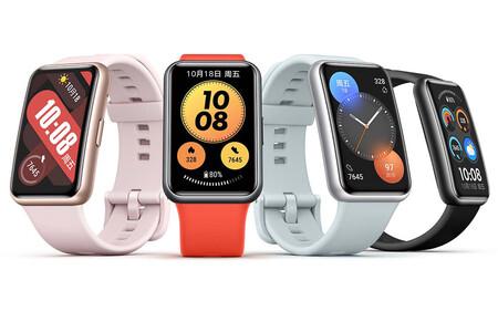 El Huawei Watch Fit New es oficial: pantalla alargada, SpO2 y casi el mismo smartwatch del año pasado