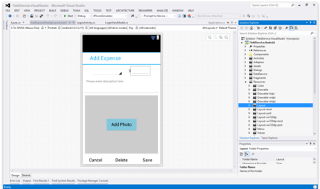 Vs2015 Ios Ui Designer