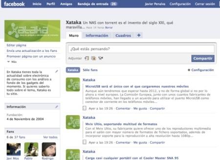 Xataka también en Facebook