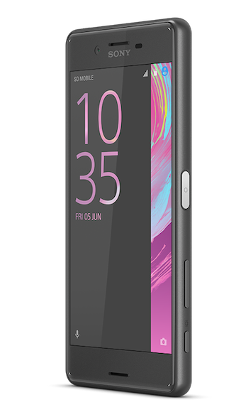Xperia X Performance Black Front 40