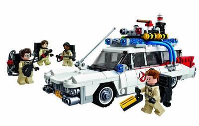 LEGO celebra el 30 aniversario de Los Cazafantasmas con el vehículo Ecto-1 y 508 piezas