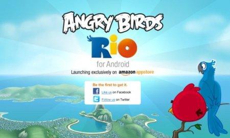 Angry Birds Rio para Android en exclusiva en la tienda de apps de Amazon