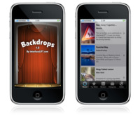 Backdrops, la aplicación para iPhone e iPod touch con fondos de InterfaceLIFT