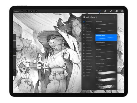 Procreate 5 Brush Studio