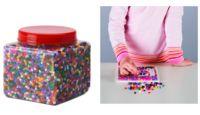 Píxel Art con cuentas de plástico multicolor: el último entretenimiento de los peques