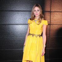 Olivia Palermo Vestido Amarillo