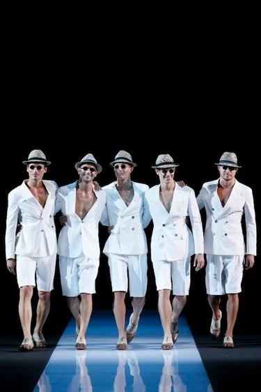 Giorgio Armani Primavera-Verano 2013 en la Semana de la Moda Masculina de Milán
