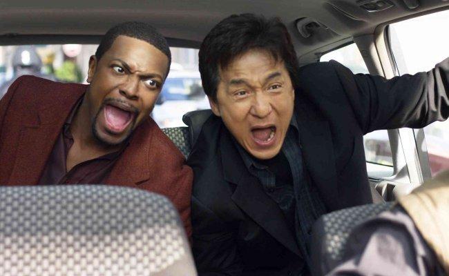 Chris Tucker y Jackie Chan en Hora Punta 3