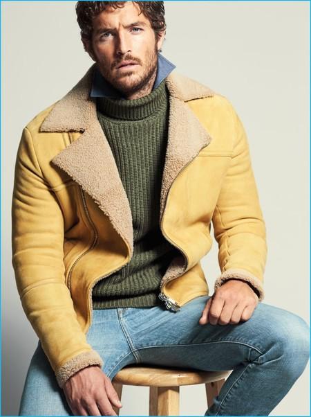 Dos imprescindibles de la temporada: botas y un abrigo de shearling