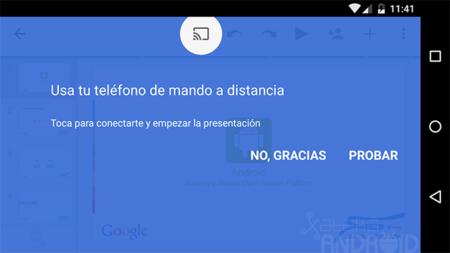 presentaciones de google ya soporta chromecast y airplay