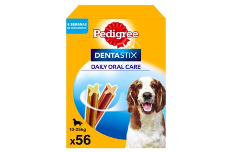Pedigree Dentastix Snack Dental Para La Higiene Oral De Perros Medianos 1 Pack De 56ud