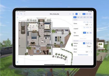 Live Home 3D Pro, los renders arquitectónicos fáciles y de calidad llegan al iPad y al iPhone: la app de la semana