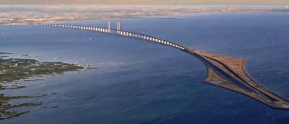 El puente-túnel de Oresund