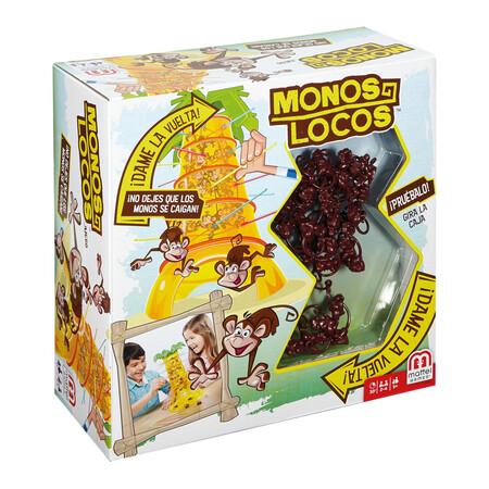 Mattel Games Monos Locos Juego De Mesa Infantil