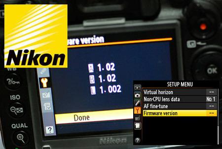 Nikon publica una actualización conjunta para múltiples cámaras de su gama réflex