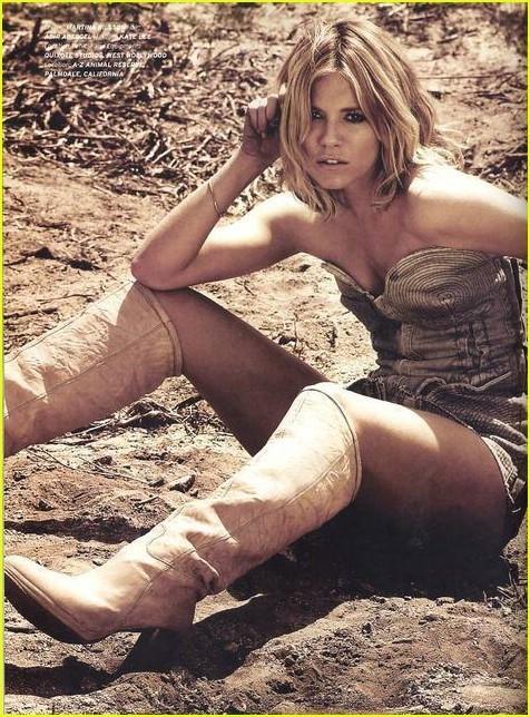 Sienna Miller en la revista Flaunt - Agosto 2007