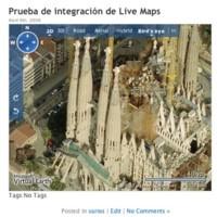 Plugin para integrar Windows Live Maps con Wordpress