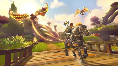 El principal culpable de la creación de Immortals Fenyx Rising es uno de los surrealistas bugs de Assassin's Creed