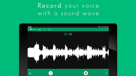 Parrot, una aplicación de grabación con Material Design y compatiblidad con Android Wear
