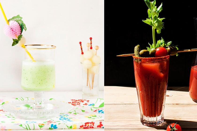 13 cócteles y bebidas (con y sin alcohol) para celebrar la Nochevieja en casa en el paseo por la gastronomía de la red
