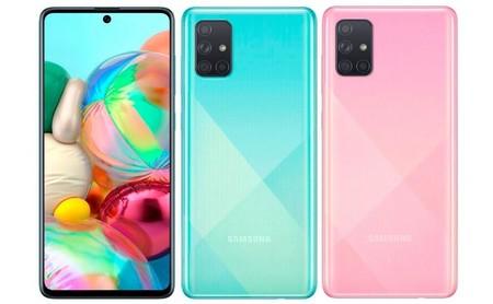 Samsung Galaxy A71 Oficial Pantalla Diseno