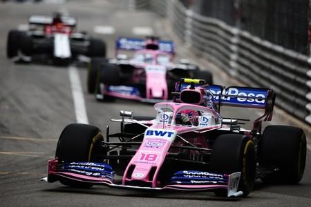 Stroll Monaco F1 2019