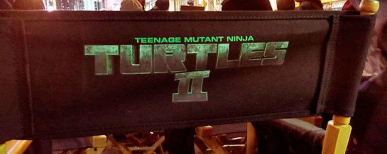 Foto de Imágenes del rodaje de 'Ninja Turtles 2' (1/6)