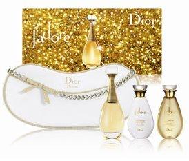 Navidad brillante y perfumada con J'Adore