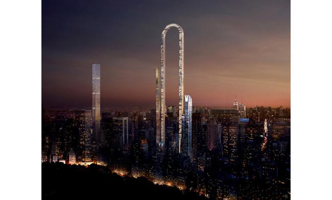 Rascacielos curvo Nueva York
