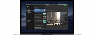 Evernote se actualiza en iOS y macOS para ofrecer el 'Modo oscuro' a los usuarios