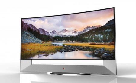 LG tiene listo tu televisor curvado UHD y de 105 pulgadas, y no es OLED