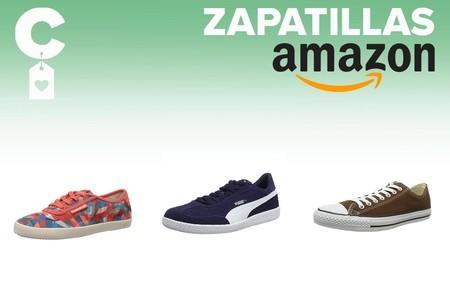 Chollos en tallas sueltas de zapatillas Puma, Reebok o Converse por menos de 30 euros en Amazon