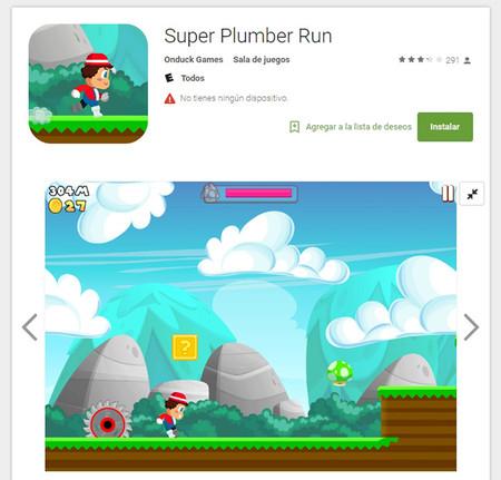 Super Plumber Run App