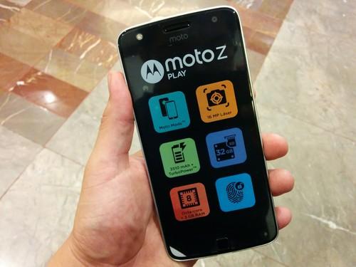 Moto Z Play, primeras impresiones