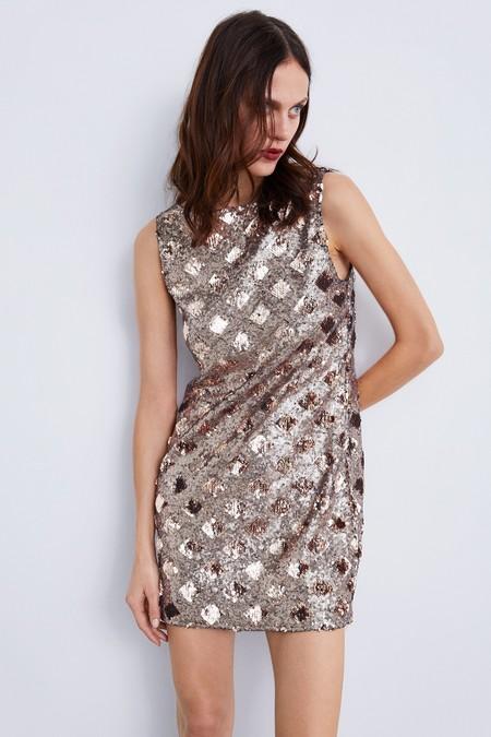 Zara Vestidos Lentejuelas 12