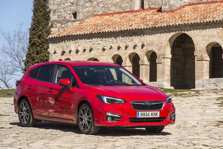 Subaru Impreza 2018 tres cuartos delantero