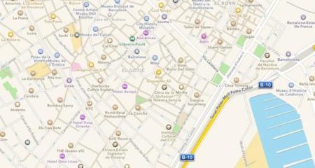 Los mapas de Apple, sin novedades debido a problemas internos de la compañía