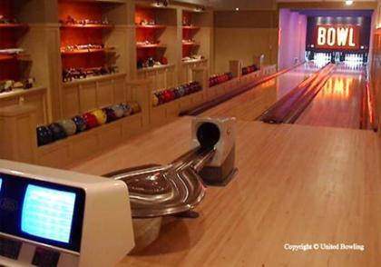 Un bowling en casa