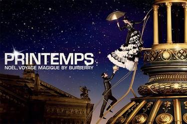 Navidad, un viaje mágico según Burberry, la nueva campaña navideña de los grandes almacenes Printemps