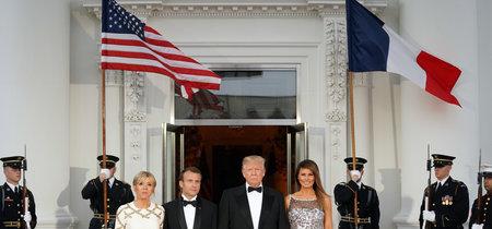 Melania Trump y Brigitte Macron: dos estilos muy distintos (pero impecables) a la hora de vestir de gala