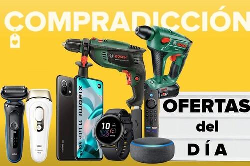 Ofertas del día y chollos en Amazon: smartphones Xiaomi, relojes Honor, monitores Samsung o cuidado personal Braun a precios rebajados