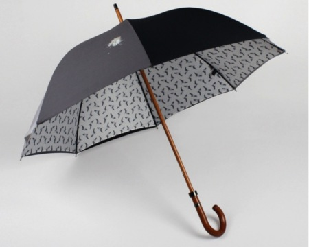 Adelántate a las palomas con este paraguas