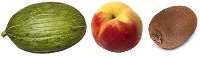 El melón, el kiwi y el melocotón, las frutas más alérgenas