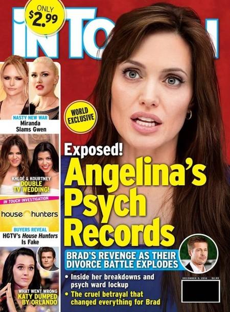 A Angelina se le va la pelota