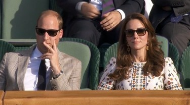 Kate Middleton eclipsa en la final de Wimbledon