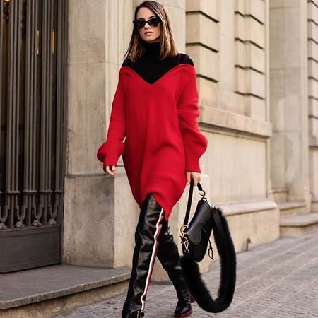 Combinar Jersey Rojo 4
